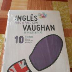 Libros: INGLÉS PASO A PASO CON VAUGHAN N° 10. Lote 106069650