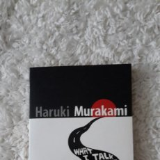 Libros: NOVELA EN INGLÉS - HARUKI MURAKAMI - WHAT I TALK ABOUT WHEN I TALK ABOUT RUNNING. Lote 109170527