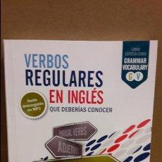 Libros: VERBOS REGULARES EN INGLÉS QUE DEBERÍAS CONOCER / ED / VAUGHAN / NUEVO SIN PRECINTO. Lote 111857519