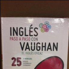 Libros: INGLÉS PASO A PASO CON VAUGHAN / Nº 25 / EL INGLÉS EFICAZ / INCLUYE CD / PRECINTADO.. Lote 112209875