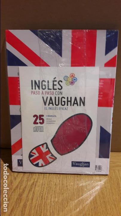 Libros: INGLÉS PASO A PASO CON VAUGHAN / Nº 25 / EL INGLÉS EFICAZ / INCLUYE CD / PRECINTADO. - Foto 2 - 112209875