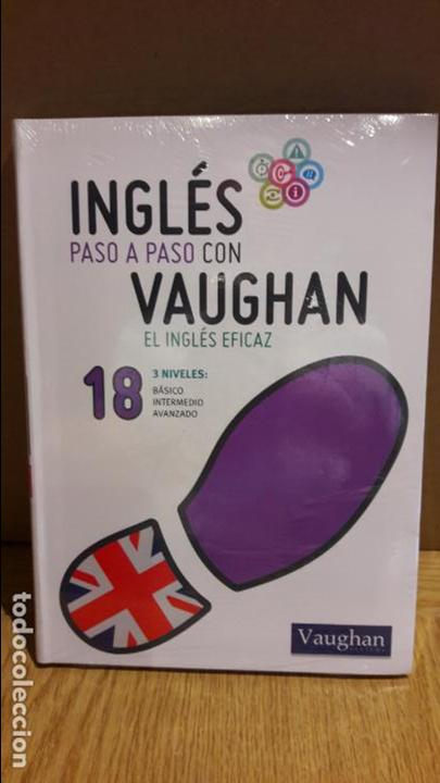 INGLÉS PASO A PASO CON VAUGHAN / Nº 18 / EL INGLÉS EFICAZ / INCLUYE CD / PRECINTADO. (Libros Nuevos - Idiomas - Inglés)
