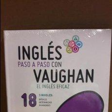 Libros: INGLÉS PASO A PASO CON VAUGHAN / Nº 18 / EL INGLÉS EFICAZ / INCLUYE CD / PRECINTADO.. Lote 112210139
