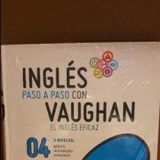Libros: INGLÉS PASO A PASO CON VAUGHAN / Nº 04 / EL INGLÉS EFICAZ / INCLUYE CD / PRECINTADO.. Lote 112210203