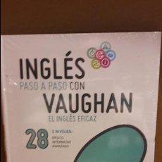 Libros: INGLÉS PASO A PASO CON VAUGHAN / Nº 28 / EL INGLÉS EFICAZ / INCLUYE CD / PRECINTADO.. Lote 112210255