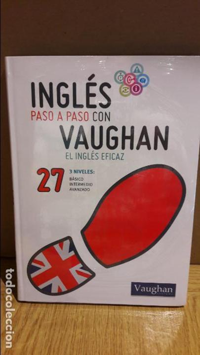 INGLÉS PASO A PASO CON VAUGHAN / Nº 27 / EL INGLÉS EFICAZ / INCLUYE CD / PRECINTADO. (Libros Nuevos - Idiomas - Inglés)