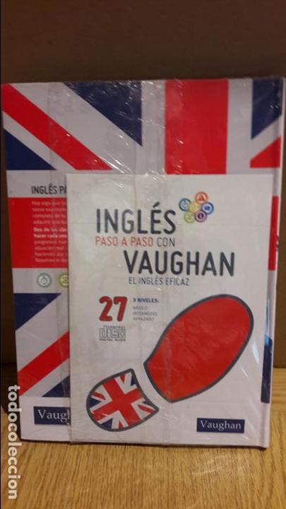 Libros: INGLÉS PASO A PASO CON VAUGHAN / Nº 27 / EL INGLÉS EFICAZ / INCLUYE CD / PRECINTADO. - Foto 2 - 112210307
