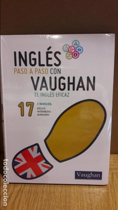 INGLÉS PASO A PASO CON VAUGHAN / Nº 17 / EL INGLÉS EFICAZ / INCLUYE CD / PRECINTADO. (Libros Nuevos - Idiomas - Inglés)