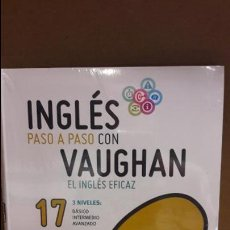 Libros: INGLÉS PASO A PASO CON VAUGHAN / Nº 17 / EL INGLÉS EFICAZ / INCLUYE CD / PRECINTADO.. Lote 112210371
