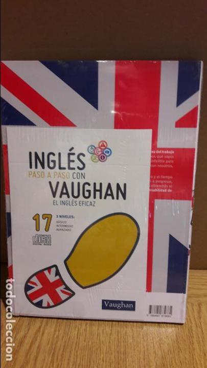 Libros: INGLÉS PASO A PASO CON VAUGHAN / Nº 17 / EL INGLÉS EFICAZ / INCLUYE CD / PRECINTADO. - Foto 2 - 112210371