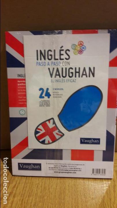 Libros: INGLÉS PASO A PASO CON VAUGHAN / Nº 24 / EL INGLÉS EFICAZ / INCLUYE CD / PRECINTADO. - Foto 2 - 112210983
