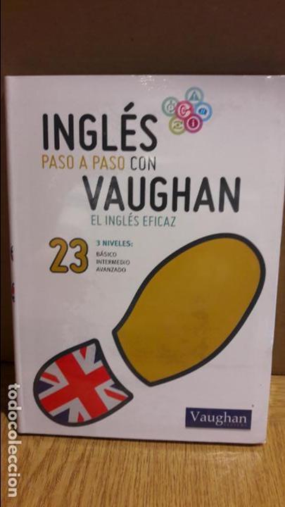 INGLÉS PASO A PASO CON VAUGHAN / Nº 23 / EL INGLÉS EFICAZ / INCLUYE CD / PRECINTADO. (Libros Nuevos - Idiomas - Inglés)