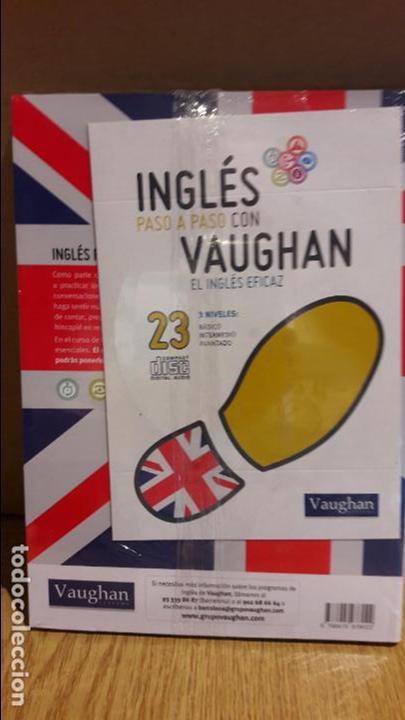 Libros: INGLÉS PASO A PASO CON VAUGHAN / Nº 23 / EL INGLÉS EFICAZ / INCLUYE CD / PRECINTADO. - Foto 2 - 112211259