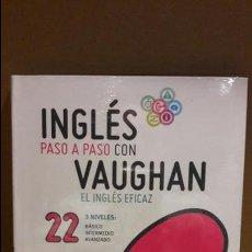 Libros: INGLÉS PASO A PASO CON VAUGHAN / Nº 22 / EL INGLÉS EFICAZ / INCLUYE CD / PRECINTADO.. Lote 112211303