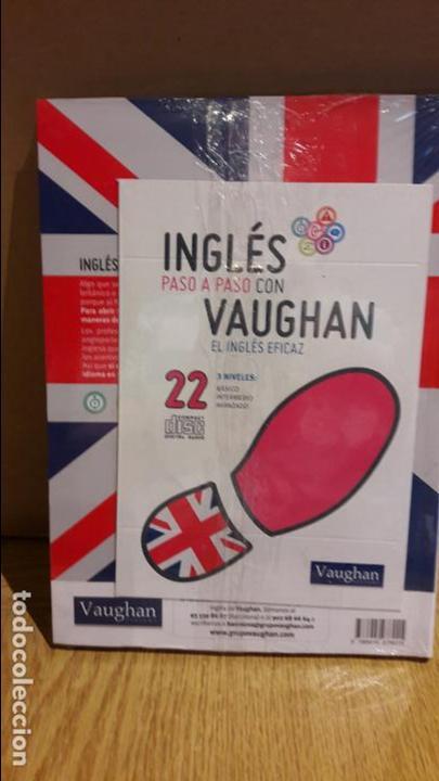Libros: INGLÉS PASO A PASO CON VAUGHAN / Nº 22 / EL INGLÉS EFICAZ / INCLUYE CD / PRECINTADO. - Foto 2 - 112211303