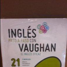 Libros: INGLÉS PASO A PASO CON VAUGHAN / Nº 21 / EL INGLÉS EFICAZ / INCLUYE CD / PRECINTADO.. Lote 112211579
