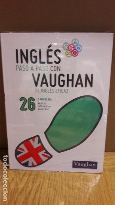 INGLÉS PASO A PASO CON VAUGHAN / Nº 26 / EL INGLÉS EFICAZ / INCLUYE CD / PRECINTADO. (Libros Nuevos - Idiomas - Inglés)
