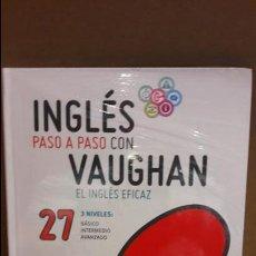 Libros: INGLÉS PASO A PASO CON VAUGHAN / Nº 27 / EL INGLÉS EFICAZ / INCLUYE CD / PRECINTADO.. Lote 112211915