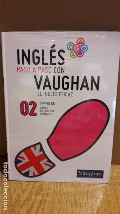 INGLÉS PASO A PASO CON VAUGHAN / Nº 02 / EL INGLÉS EFICAZ / INCLUYE CD / PRECINTADO. (Libros Nuevos - Idiomas - Inglés)