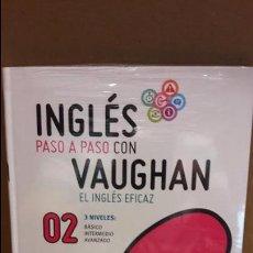 Libros: INGLÉS PASO A PASO CON VAUGHAN / Nº 02 / EL INGLÉS EFICAZ / INCLUYE CD / PRECINTADO.. Lote 126722076
