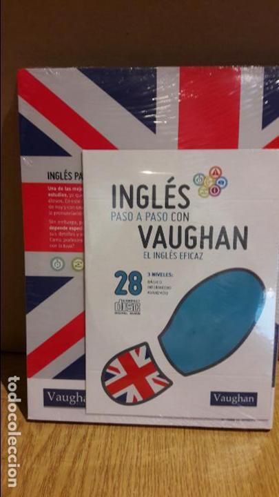 Libros: INGLÉS PASO A PASO CON VAUGHAN / Nº 28 / EL INGLÉS EFICAZ / INCLUYE CD / PRECINTADO. - Foto 2 - 112212503