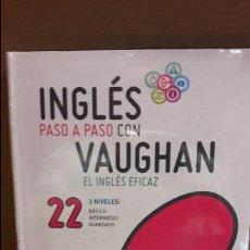 Libros: INGLÉS PASO A PASO CON VAUGHAN / Nº 22 / EL INGLÉS EFICAZ / INCLUYE CD / PRECINTADO.. Lote 112212599