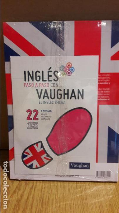 Libros: INGLÉS PASO A PASO CON VAUGHAN / Nº 22 / EL INGLÉS EFICAZ / INCLUYE CD / PRECINTADO. - Foto 2 - 112212599