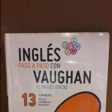 Libros: INGLÉS PASO A PASO CON VAUGHAN / Nº 13 / EL INGLÉS EFICAZ / INCLUYE CD / PRECINTADO.. Lote 112212871