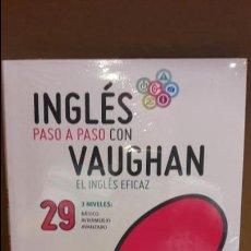 Libros: INGLÉS PASO A PASO CON VAUGHAN / Nº 29 / EL INGLÉS EFICAZ / INCLUYE CD / PRECINTADO.. Lote 112213103