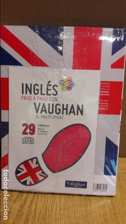 Libros: INGLÉS PASO A PASO CON VAUGHAN / Nº 29 / EL INGLÉS EFICAZ / INCLUYE CD / PRECINTADO. - Foto 2 - 112213103