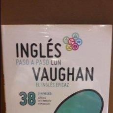 Libros: INGLÉS PASO A PASO CON VAUGHAN / Nº 38 / EL INGLÉS EFICAZ / INCLUYE CD / PRECINTADO.. Lote 112213167