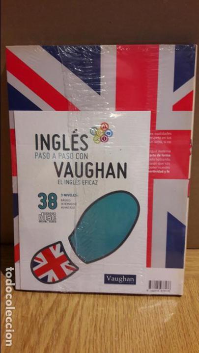 Libros: INGLÉS PASO A PASO CON VAUGHAN / Nº 38 / EL INGLÉS EFICAZ / INCLUYE CD / PRECINTADO. - Foto 2 - 112213167