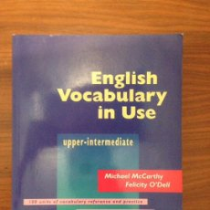 Libros: ENGLISH VOCABULARY IN USE. Lote 115403199