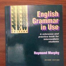 Libros: ENGLISH GRAMMAR IN USE. Lote 115403448