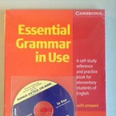 Libros: ESSENTIAL GRAMMAR IN USE. Lote 115406478