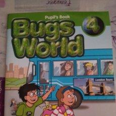 Libros: BUGS WORLD 4. PUPIL'S BOOK MACMILLAN. Lote 128688967