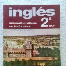 Libros: INGLÉS 2º BUP. SILOS.. Lote 144833650