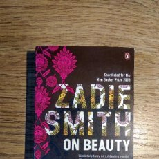 Libros: ON BEAUTY DE ZADIE SMITH. Lote 135322802