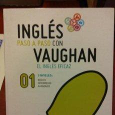 Libros: BJS.INGLES PASO A PASO CON VAUGHAN.VARIOS.EDT VAUGHAN. .. Lote 139045966