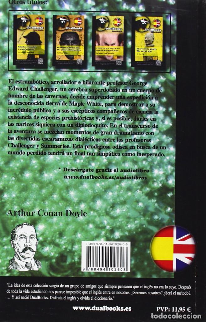 Libros: THE LOST WORLD / EL MUNDO PERDIDO BILINGÜE (2013) - A. CONAN DOYLE - ISBN: 9788494102608 - Foto 2 - 140720482