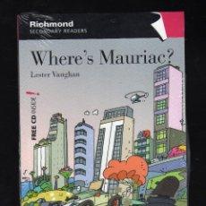 Libros: WHERE'S MAURIAC? POR LESTER VAUGHAN · PRECINTADO · PESO: 161 GRAMOS. Lote 141713218