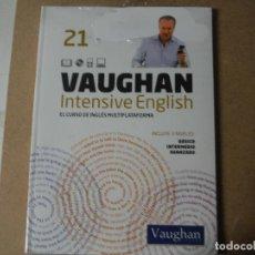 Libros: VAUGHAN INTENSIVE ENGLISH 21. Lote 143150082