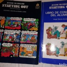 Libros: ACCESST TO ENGLISH. STARTING OUT. Lote 143409058