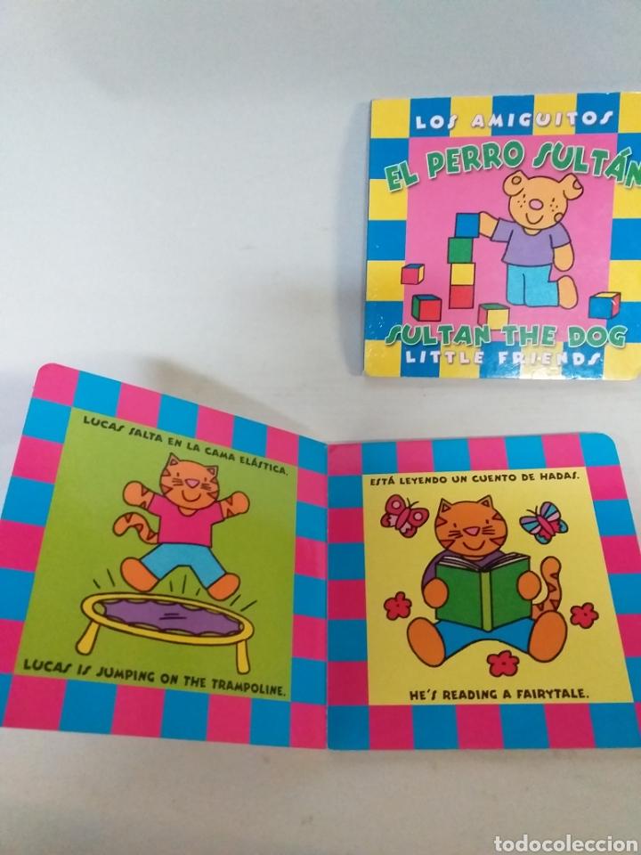 Libros: Los amiguitos. El perro sultán. El conejo Leo. El gato Lucas - Foto 2 - 147708905