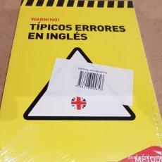 Libros: TÍPICOS ERRORES EN INGLÉS. / METODO VAUGHAN / LIBRO PRECINTADO.. Lote 172772448