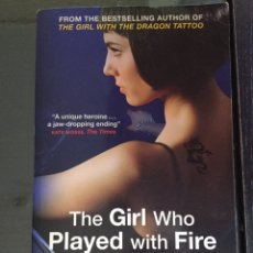 Libros: STIEG LARSSON, THE GIRL WHO PLAYED WITH FIRE. Lote 149525773
