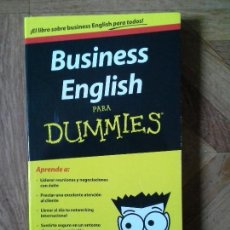 Libros: BUSINESS ENGLISH PARA DUMMIES. Lote 150087878