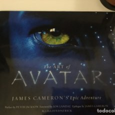 Libros: THE ART OF AVATAR. Lote 152583012