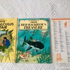 Libros: TINTÍN EN INGLÉS 2 CUENTOS. Lote 152684921