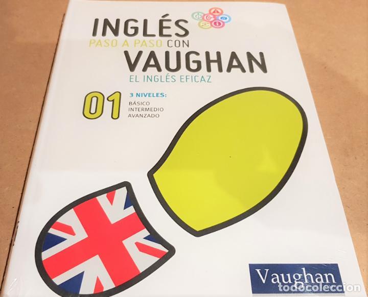 INGLÉS PASO A PASO CON VAUGHAN / Nº 01 / EL INGLÉS EFICAZ / INCLUYE CD / PRECINTADO. (Libros Nuevos - Idiomas - Inglés)